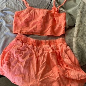 LF neon coral set (mags and Pye)